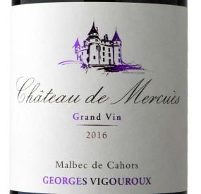 Etiquette château de mercuès grand vin 2016