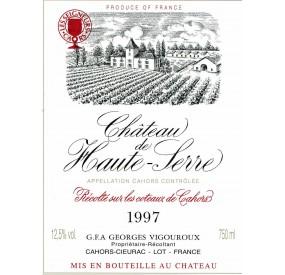 Château de Haute-Serre Grand vin de Cahors