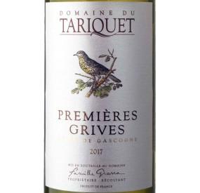Tariquet 1ères grives, vin blanc moelleux