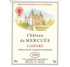 Chateau de Mercues 1994