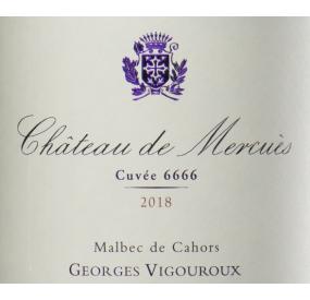 Etiquette Château de Mercuès 2018