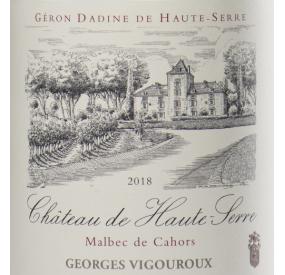 Étiquette Château de Haute-Serre
