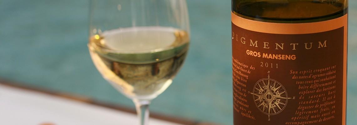 Nos vin de cépage Gros Manseng