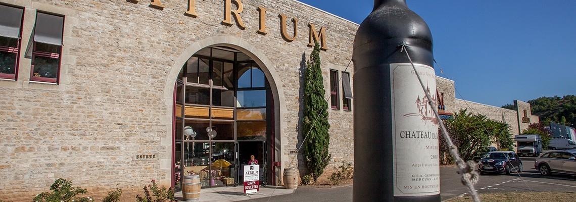 Sélection des meilleurs vins du Sud-Ouest  - Atrium Vigouroux
