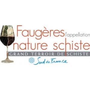 Les vins AOC Faugeres de Atrium Vigouroux